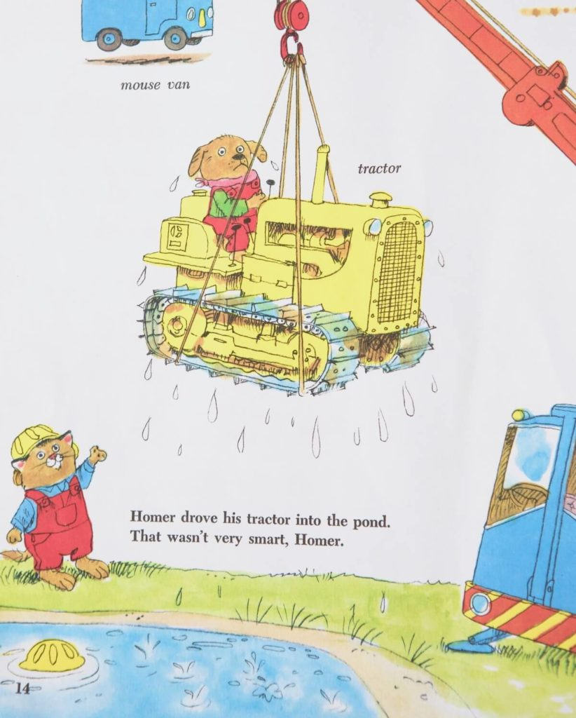 Homer's tractor
