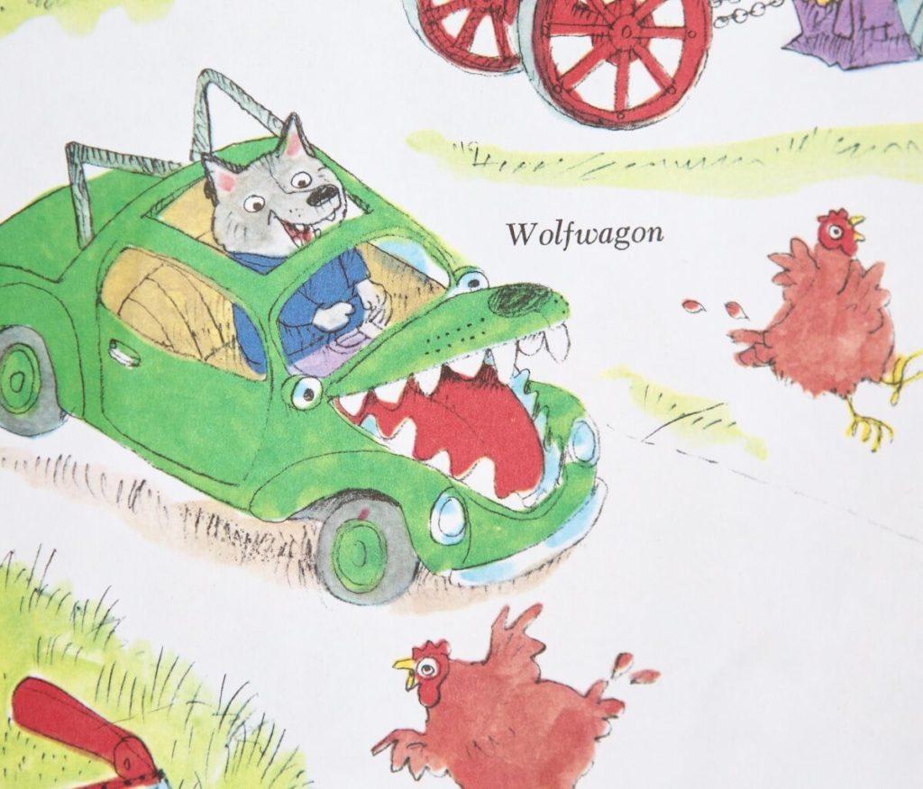 wolf wagon