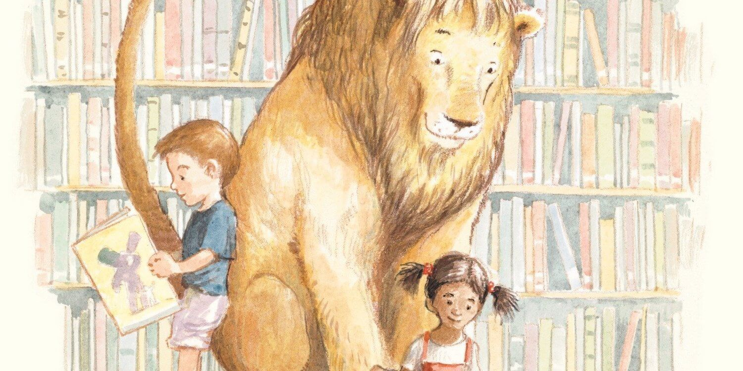 library lion a thousand and one goodnights